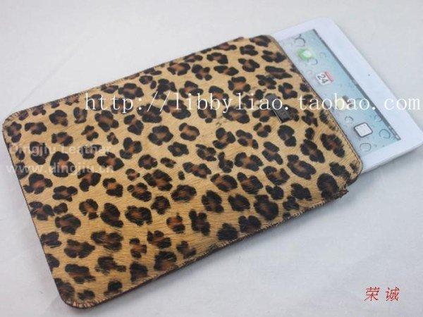 豹纹印花皮毛betvictor1946手机马毛皮iPad air保护套(壳)